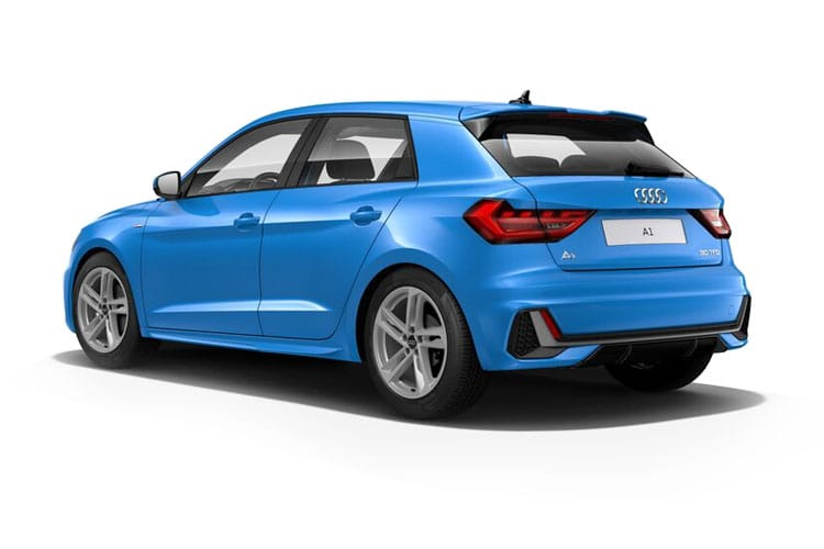 Audi A1 30 Sportback 5Dr 1.0 TFSI 116PS Vorsprung 5Dr S Tronic [Start Stop] back view