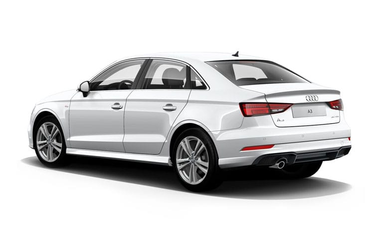Audi A3 30 Saloon 4Dr 2.0 TDI 116PS S line 4Dr S Tronic [Start Stop] [Comfort Sound] back view
