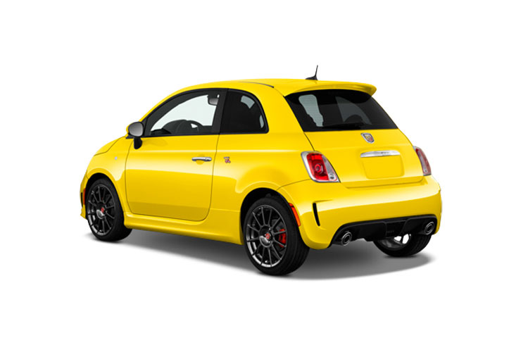 Abarth 595 Hatch 3Dr 1.4 T-Jet 180PS Competizione 3Dr Manual back view