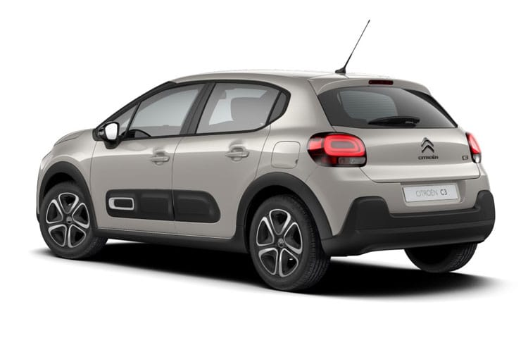 Citroen C3 Hatch 5Dr 1.2 PureTech 83PS Shine Plus 5Dr Manual [Start Stop] back view
