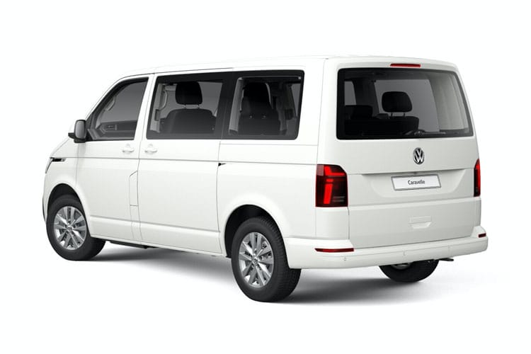 Volkswagen Caravelle SWB MPV M1 4Motion 2.0 BiTDI 4WD 199PS Executive MPV DSG [Start Stop] back view