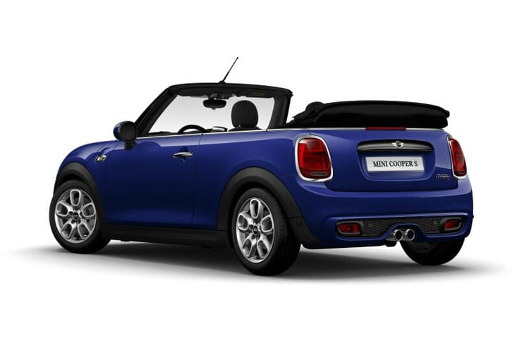 MINI Convertible Cooper 1.5  136PS Classic 2Dr Steptronic [Start Stop] [Comfort] back view