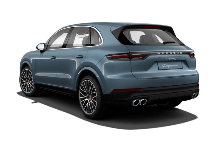 Porsche Cayenne Coupe 4wd 4.0 V8 PiH 14.1kWh 680PS Turbo S E-Hybrid 5Dr Tiptronic [Start Stop] back view