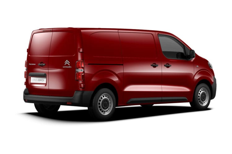Citroen Dispatch XS 1400Kg 2.0 BlueHDi FWD 120PS Enterprise Van Manual [Start Stop] back view