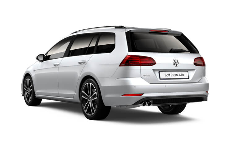 Volkswagen Golf Estate 1.0 TSI 115PS S 5Dr Manual [Start Stop] [Discover Nav] back view