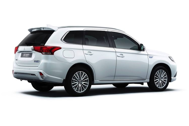 Mitsubishi Outlander PHEV SUV 2.4 h TwinMotor 13.8kWh 224PS Exceed Safety 5Dr CVT [Start Stop] back view