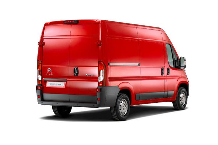Citroen Relay 35 L3 2.2 BlueHDi FWD 140PS Enterprise Van Extra High Roof Manual [Start Stop] back view