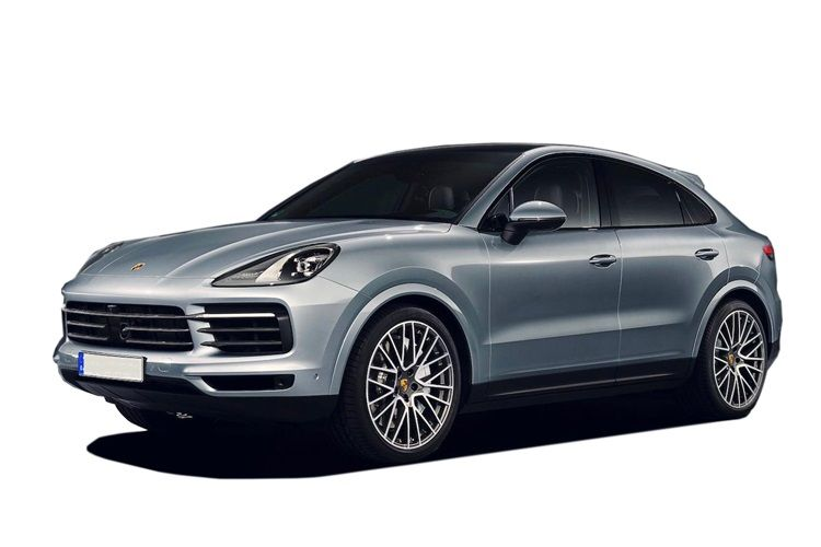Porsche Cayenne Coupe 4wd 4.0 V8 PiH 14.1kWh 680PS Turbo S E-Hybrid 5Dr Tiptronic [Start Stop] front view