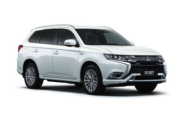 Mitsubishi Outlander PHEV SUV 2.4 h TwinMotor 13.8kWh 224PS Exceed Safety 5Dr CVT [Start Stop] front view