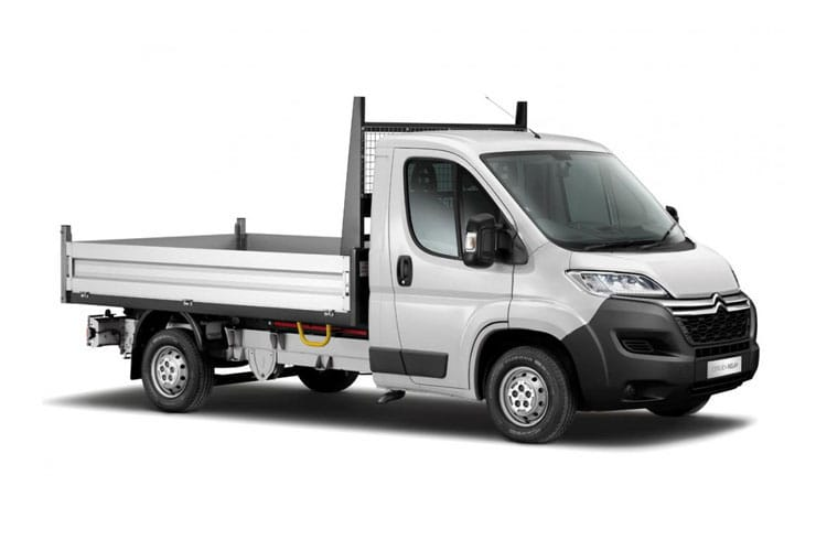 Citroen Relay 35 L2 2.2 BlueHDi FWD 140PS Ready to Run Plus Tipper Manual [Start Stop] front view