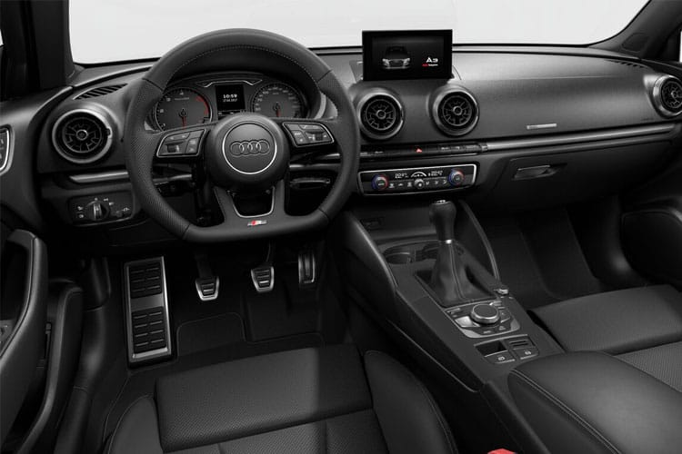 Audi A3 30 Saloon 4Dr 2.0 TDI 116PS S line 4Dr S Tronic [Start Stop] [Comfort Sound] inside view
