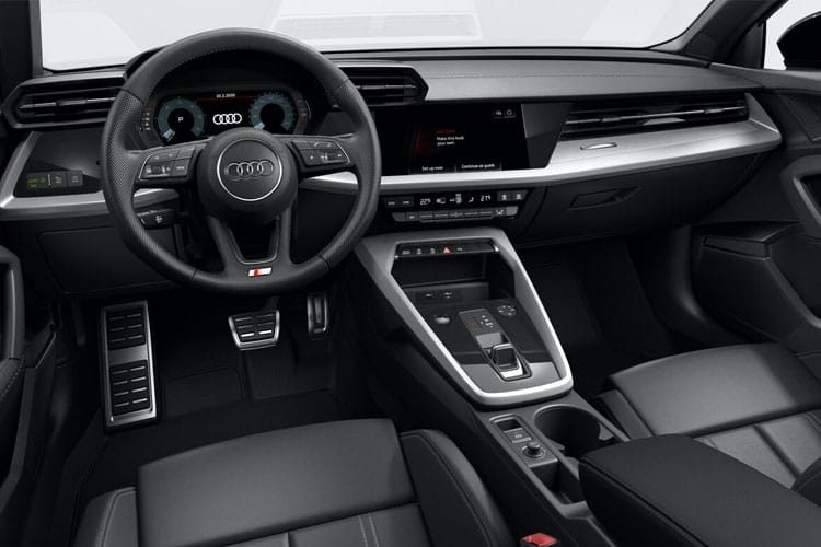 Audi A3 40 Sportback 5Dr 1.4 TFSIe PHEV 13kWh 204PS S line 5Dr S Tronic inside view