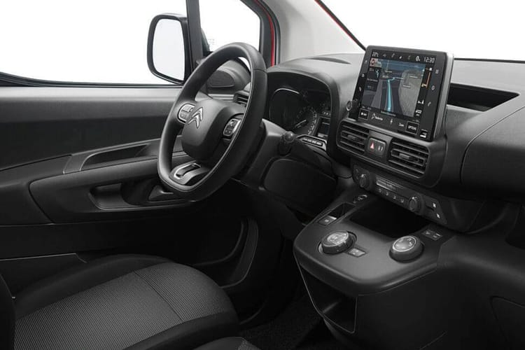 Citroen Berlingo M 1000Kg 1.5 BlueHDi FWD 100PS Driver Van Manual inside view