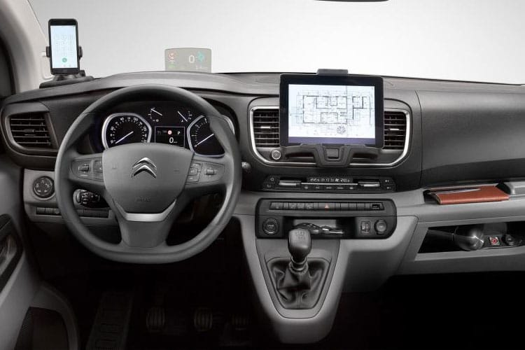 Citroen Dispatch XS 1400Kg 2.0 BlueHDi FWD 120PS Enterprise Van Manual [Start Stop] inside view