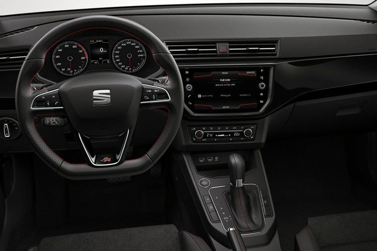 SEAT Ibiza Hatch 5Dr 1.0 TSI 95PS FR Sport 5Dr Manual [Start Stop] inside view