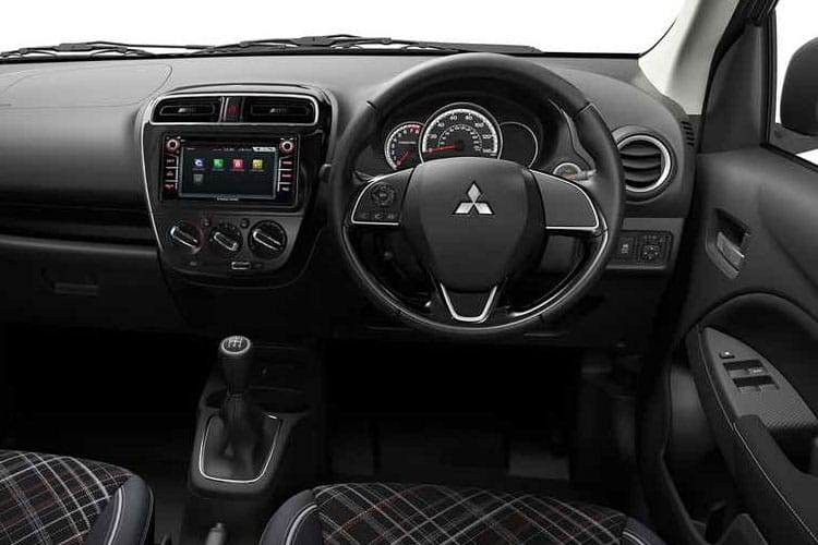 Mitsubishi Mirage Hatch 5Dr 1.2  79PS First Edition 5Dr Manual [Start Stop] inside view