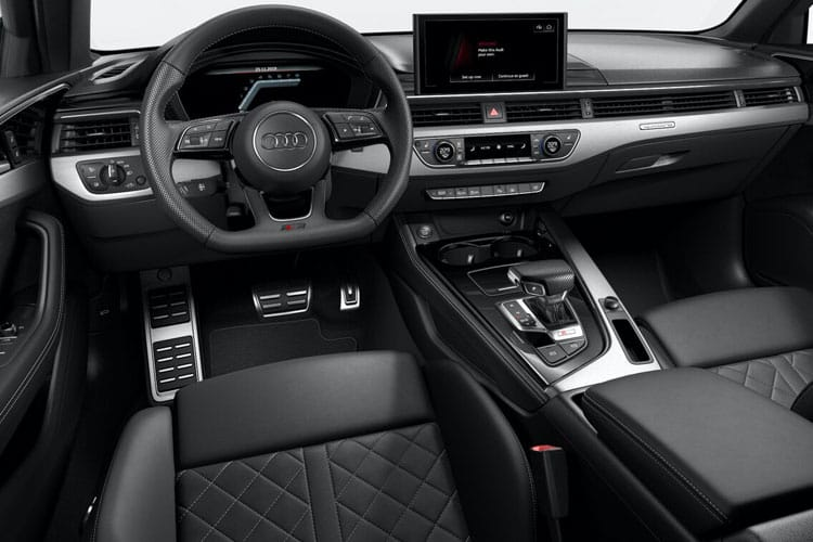 Audi A4 40 Saloon 4Dr 2.0 TFSI 204PS Black Edition 4Dr S Tronic [Start Stop] [Comfort Sound] inside view